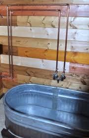 the just right bathtub bathtubs tiny houses and stock tank