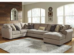 Benchcraft Furniture Benchcraft Pantomine 4 Piece Sectional With Right Chaise U0026 Armless