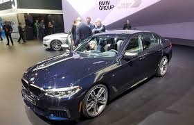 2017 detroit auto show 2017 bmw 5 series the daily drive