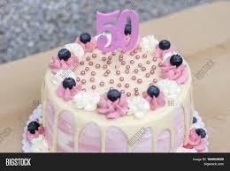 homemade birthday cake 50 year old image u0026 photo bigstock