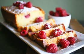 raspberry white chocolate pound cake the 36th avenue