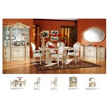 dining room sets with china cabinet rossella comp 1 dining room set table 2 arm and 4 side chairs 4