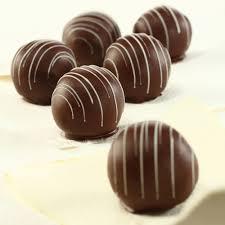 halloween chocolate balls chocolate peanut butter balls