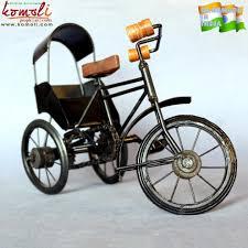 metal craft vintage home decor replica miniature bicycle indian