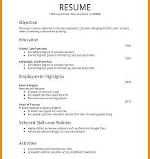 basic resume exles for students basic resume sles aiditan me