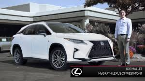 2008 lexus hybrid suv for sale 2016 lexus rx 350 for sale near westmont il mcgrath lexus youtube