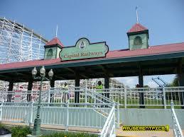 Theme Park Six Flags Theme Park Trains Six Flags America