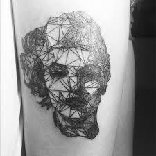 tattoo portraits on arm tattoo line art scene360
