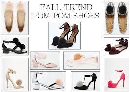 fall shoe trends pom pom shoes glamourita