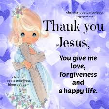 thank you jesus for your sacrifice of prayer