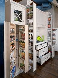 kitchen island pull out shelving design combined with kitchen
