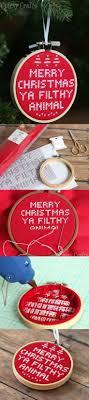 cross stitch diy ornament home alone cross stitch