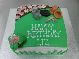 gardening themed birthday cake crumbs cake shop sheffield