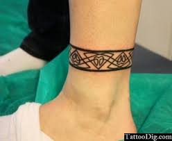 35 tribal ankle band tattoos ideas