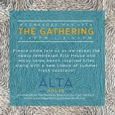 alta house gathering south bay events