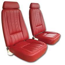 1968 corvette seats 1969 corvette leather seat covers 683 99 vetteco inc corvette