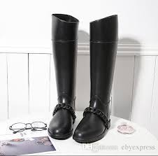 s boots designer high rainboots luxury brand designer waterproof rubber