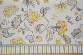 Gray Valance Marcela Sun Home Essentials Yellow Gray Toile Valance 17