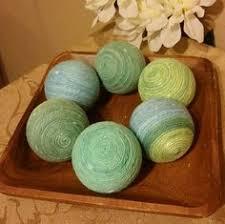 light blue decorative balls decorative yarn balls aqua and coral decorative balls deco balls
