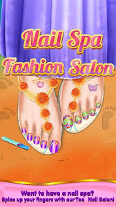 3d toe nail salon fashion spa android apps on google play