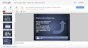 Google Docs Spreadsheet Help Google Docs Presentation Demo Works Without An Account Is Part