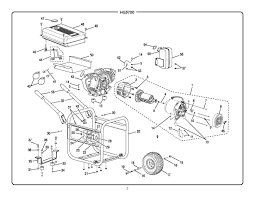 hg5700 homelite portable generator parts homelite parts
