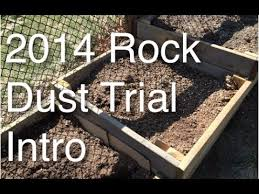 Rock Dust Gardening Want To If Rock Dust Lives Up To Its Claims Follow Along