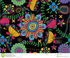 60 S Design Vector Seamless Texture 60s Stock Image Image 16768431