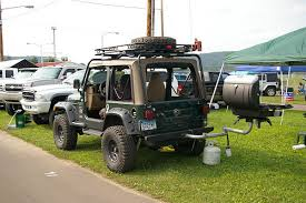 Jeep Bbq Jeep Wrangler Tj With Hitch Mounted Bbq Grill Bloomsburg 4 Flickr