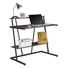 Small Laptop And Printer Desk Compact Computer Desk With Printer Shelf Home Design Ideas
