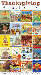 thanksgiving books for happy brown house