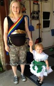 Baby Carrier Halloween Costumes Halloween Costumes Pregnant Moms Babyprepping