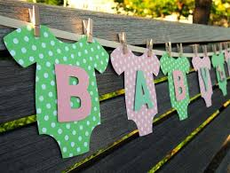 baby shower banner diy 22 low cost diy decorating ideas for baby shower party