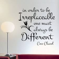 irreplaceable be different quote vinyl lettering wall decals irreplaceable be different quote vinyl lettering wall decals office quotesdecorating