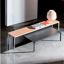 Coffee Table Contemporary by Contemporary Coffee Table Lacquered Wood Birch Lacquered