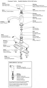 moen kitchen faucet assembly moen kitchen faucet parts diagram 8712 commercial single handle