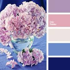 springtime delicate palette of pastel shades created including