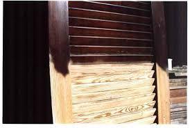 persiana in legno sabbiature sverniciatura e pulitura legno csgnet service srls