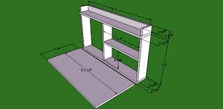build a small closet with folding table for balcony interior