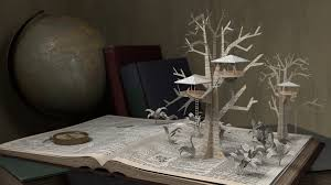tree house pop up book visual effects project the rookies