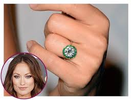 5 celebrities with beautiful u0026 authentic vintage engagement rings