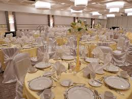 center table decorations chair covers of lansing table decorations