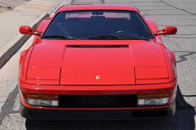 ferrari back view 1988 ferrari testarossa red hills rods and choppers inc st