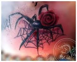 famous black widow tattoos and ideas page 4 golfian com