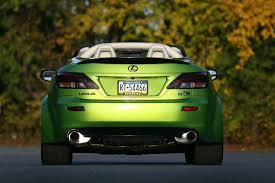 lexus green 2010 lexus is 350c by fox marketing previewed autoevolution