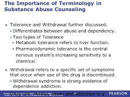Addiction Counseling Theory And Practice Chapter 1 Introduction To Substance Abuse Counseling Substance