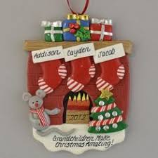 Grandparent Ornaments Personalized This Ornament Can Be From All Of The Grandchildren Grandma And