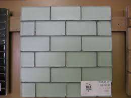 breathtaking clear glass subway tile backsplash pictures
