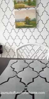 reusable wall stencil sophia trellis pattern u2013 pursuit of