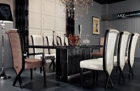 luxury dining room sets luxury veneer and black crocodile dining table